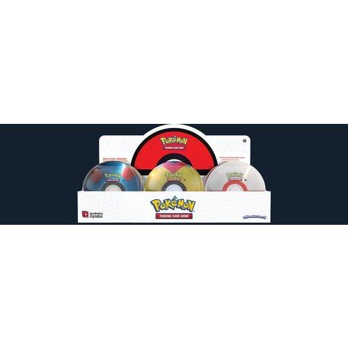 Pokemon USA POKEMON: POKEBALL TIN 2021