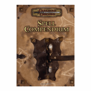 Wizards of the Coast D&D 3.5: SPELL COMPENDIUM (Used)