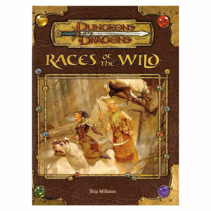 Wizards of the Coast D&D 3.5: RACES OF THE WILD (Used)