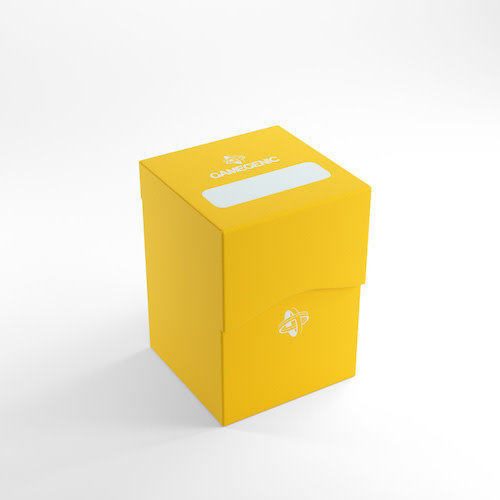 GAMEGENIC DECK BOX: 100+ YELLOW