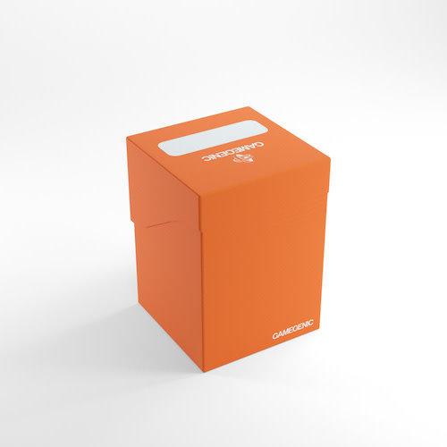 GAMEGENIC DECK BOX: 100+ ORANGE