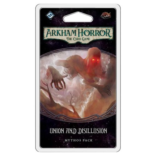 Fantasy Flight Games ARKHAM HORROR LCG: UNION & DISILLUSION MYTHOS PACK