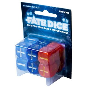 Evil Hat Productions FATE DICE: DRESDEN FILES WHITE KNIGHT (12)