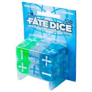 Evil Hat Productions FATE DICE: ATOMIC ROBO (12)