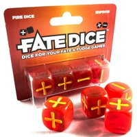 FATE DICE: FIRE (4)