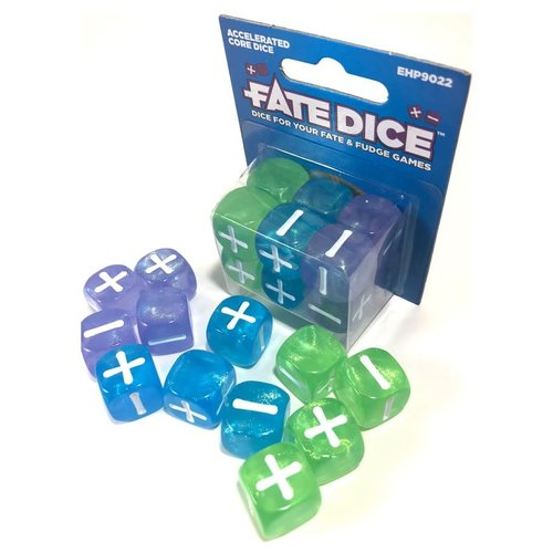 Evil Hat Productions FATE DICE: ACCELERATED CORE (12)