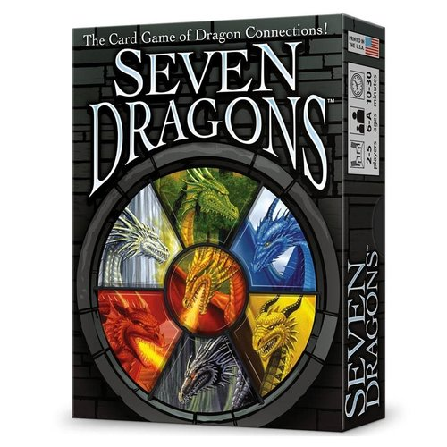 Fully Baked Ideas (Looney Labs) SEVEN DRAGONS