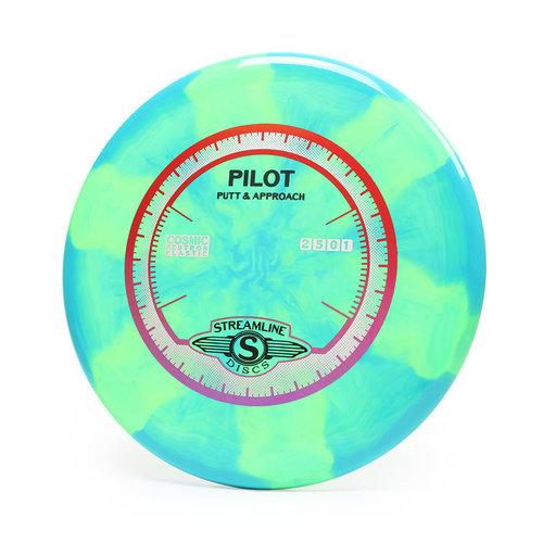 Streamline Discs PILOT STREAMLINE COSMIC NEUTRON 165g-169g PUTT & APPROACH GOLF DISC
