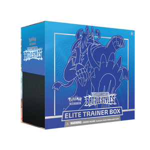 Pokemon USA POKEMON: SWORD & SHIELD 5: BLUE BATTLE STYLES - ELITE TRAINER BOX