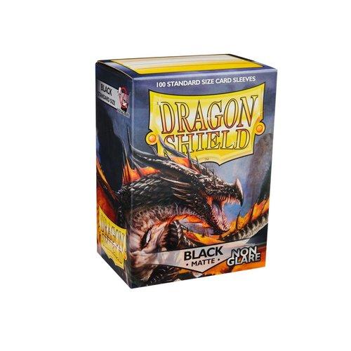 Arcane Tinmen DECK PROTECTOR: DRAGON SHIELD: NON-GLARE BLACK (100)