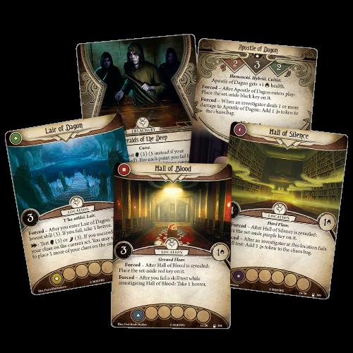 Fantasy Flight Games ARKHAM HORROR LCG: THE LAIR OF DAGON