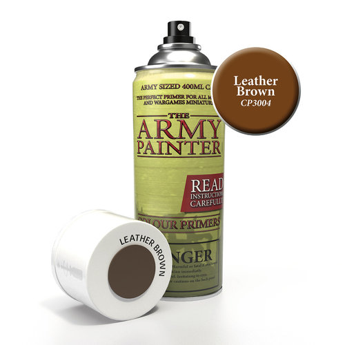 The Army Painter COLOR PRIMER: LEATHER BROWN