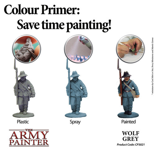The Army Painter COLOR PRIMER: WOLF GREY