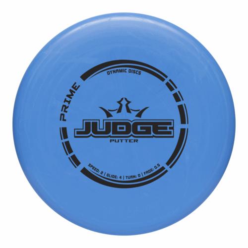 Dynamic Discs JUDGE PRIME 173g-176g DISC GOLF PUTTER