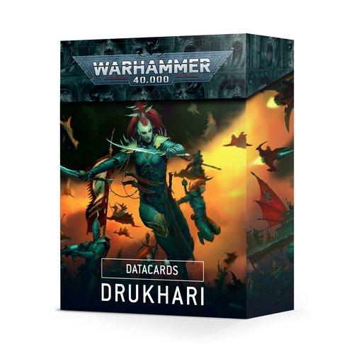 Games Workshop DATACARDS: DRUKHARI