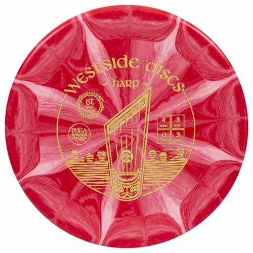 Westside Discs HARP BT SOFT BURST 173g-176g PUTTER GOLF DISC