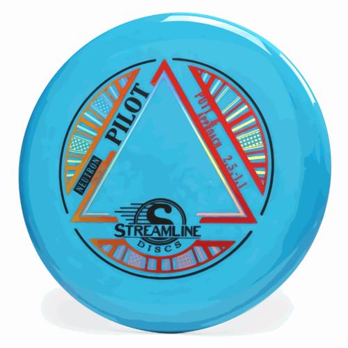 Streamline Discs PILOT STREAMLINE NEUTRON 165g-169g PUTT & APPROACH GOLF DISC