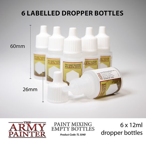 The Army Painter TOOLS: PAINT MIXING EMPTY BOTTLES