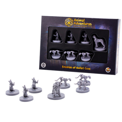 Steam Forged Games MINIS: ANIMAL ADVENTURES: ENEMIES OF GULLET COVE
