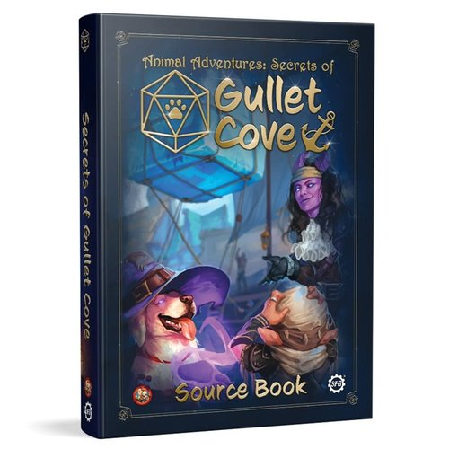 Steam Forged Games ANIMAL ADVENTURES: SECRETS OF GULLET COVE SOURCEBOOK