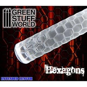 Green Stuff World ROLLING PIN: HEXAGONS