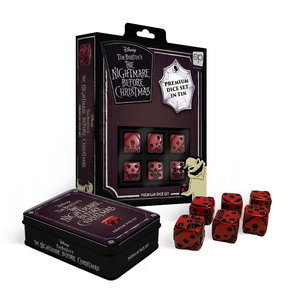 The Op | usaopoly NIGHTMARE BEFORE CHRISTMAS PREMIUM DICE SET