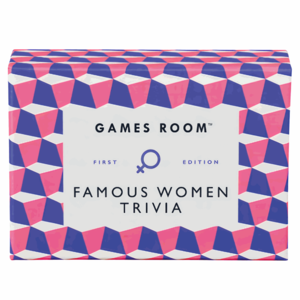 Chronicle Books GAMES ROOM: FAMOUS WOMEN QUIZ