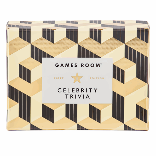 Chronicle Books GAMES ROOM: CELEBRITY TRIVIA