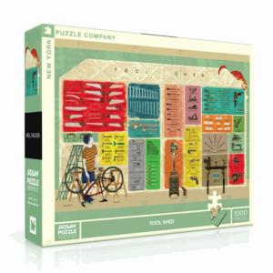 NEW YORK PUZZLE COMPANY NY1000 PACKER - TOOL SHED