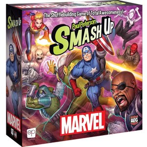The Op | usaopoly SMASH UP: MARVEL