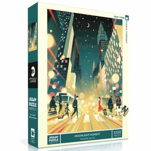 NEW YORK PUZZLE COMPANY NY1000 MTA - MOONLIGHT MOMENT