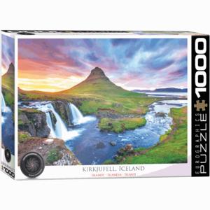 EUROGRAPHICS EG1000 KIRKJUFELL MOUNTAIN - ICELAND