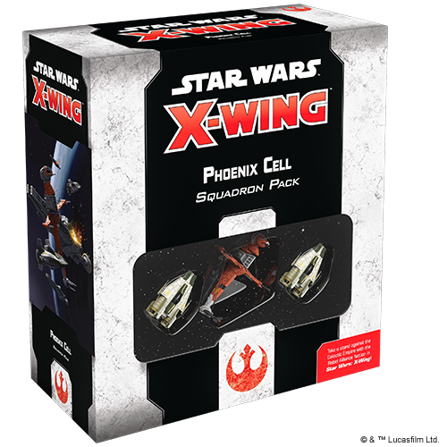 Fantasy Flight Games STAR WARS X-WING 2ND EDITION: PHOENIX CELL