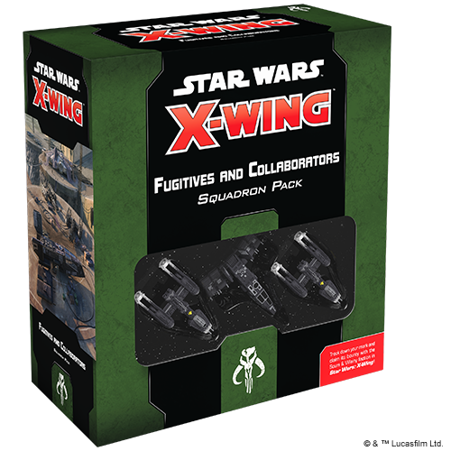 Fantasy Flight Games STAR WARS X-WING 2ND EDITION: FUGITIVES & COLLABORATORS