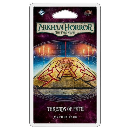 Fantasy Flight Games ARKHAM HORROR LCG: THREADS OF FATE MYTHOS PACK