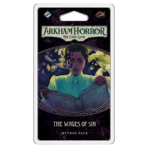 Fantasy Flight Games ARKHAM HORROR LCG: THE WAGES OF SIN MYTHOS PACK