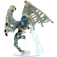 MINIS: D&D: ICONS OF THE REALMS - BONEYARD - BLUE DRACOLICH