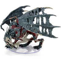 MINIS: D&D: ICONS OF THE REALMS - BONEYARD - GREEN DRACOLICH
