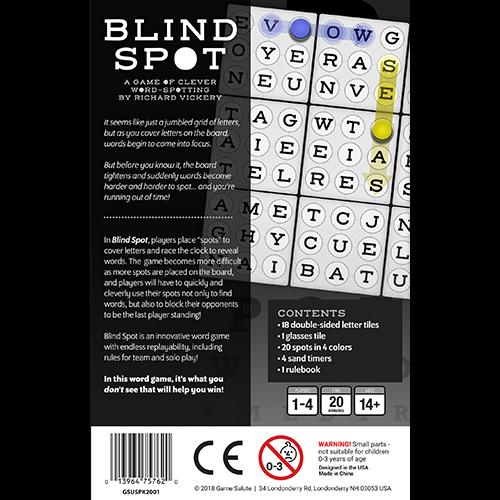 Tabletop Tycoon BLIND SPOT