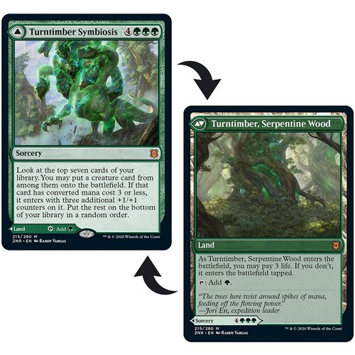 Wizards of the Coast MTG: CHALLENGER 2021 - MONO GREEN STOMPY
