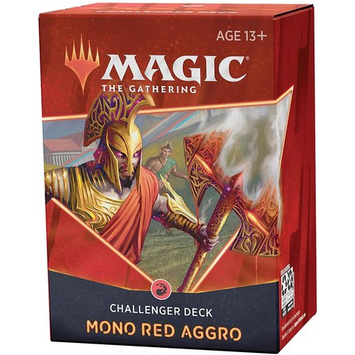 Wizards of the Coast MTG: CHALLENGER 2021 - MONO RED AGGRO