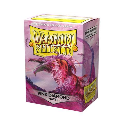 Arcane Tinmen DRAGON SHIELD: MATTE PINK DIAMOND (100)