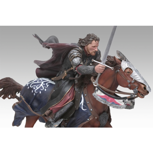 Sideshow Collectibles / Weta Workshop Ltd ARAGORN AT THE BLACK GATES POLYSTONE STATUE