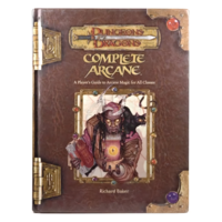 D&D 3.5: COMPLETE ARCANE (Used)