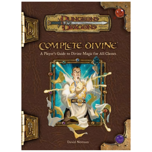 Wizards of the Coast D&D 3.5: COMPLETE DIVINE (Used)