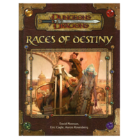 D&D 3.5: RACES OF DESTINY (Used)