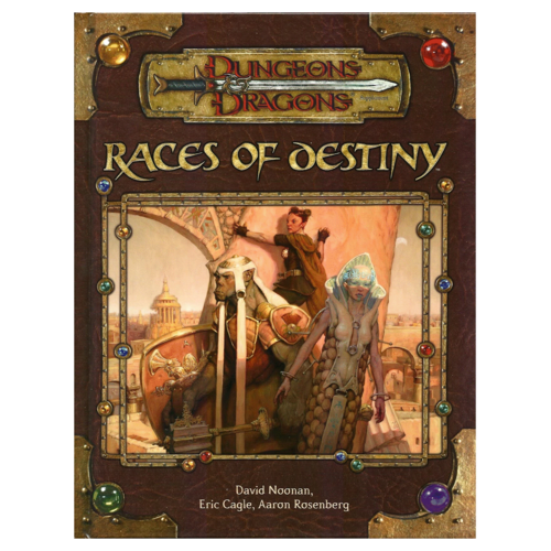 Wizards of the Coast D&D 3.5: RACES OF DESTINY (Used)