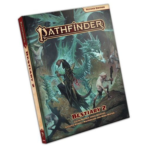 Paizo Publishing PATHFINDER 2ND EDITION: BESTIARY 2