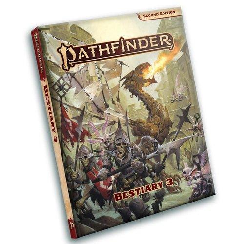 Paizo Publishing PATHFINDER 2ND EDITION: BESTIARY 3 - POCKET EDITION