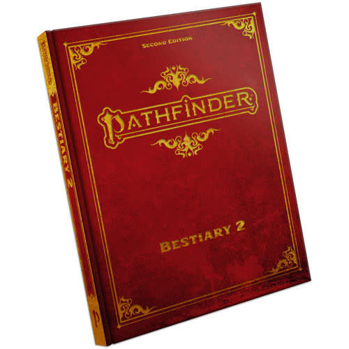 Paizo Publishing PATHFINDER 2ND EDITION: BESTIARY 2 - SPECIAL EDITION